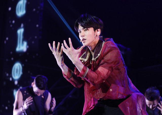 <オフィシャルレポート>【インス(MYNAME)】韓国男性5人組グループMYNAMEの最年長インス 初のソロ・ライブ開催!10月からの入隊前、最後のライブ!